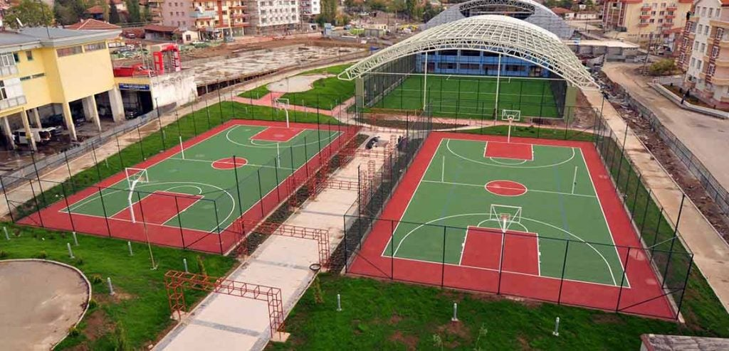 yeni spor tesislerimiz