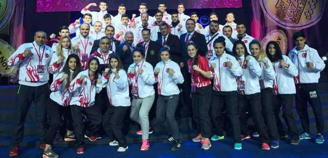 Muay Thai Sporunda 22 Madalya Kazandık