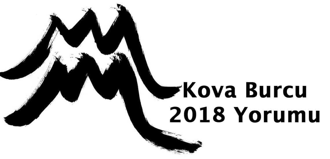 2018 Kova Burcu yorumu