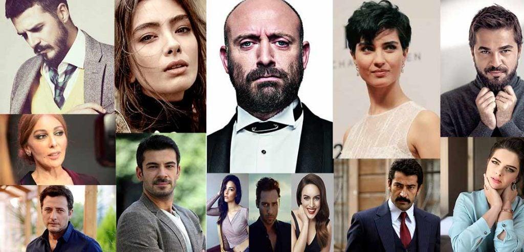 Sinema ve tiyatro oyuncuları