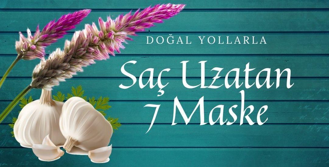Doğal Yollarla Saç Uzatan 7 Pratik Maske Tarifi